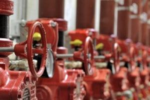 GFA Brandschutz in Holzindustrie Sprühwasserlöschanlage
