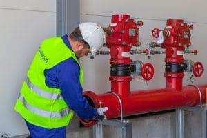 Sprinklermontage Calanbau TPI Polen