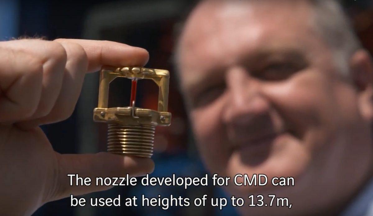 CalanMegaDrop Lagersprinkler gewinnt VINCI Innovationspreis!