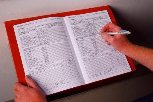 Betriebsbuch für Sprinkleranlagen