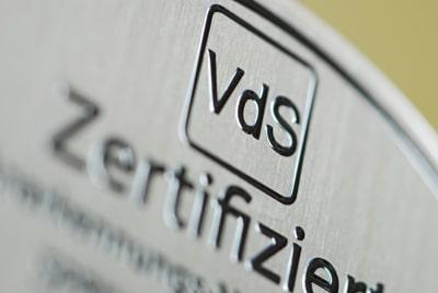 VdS zertifizierter Errichter von Sprinkleranlagen