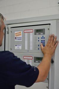 Gasloeschanlage Brandmeldezentrale