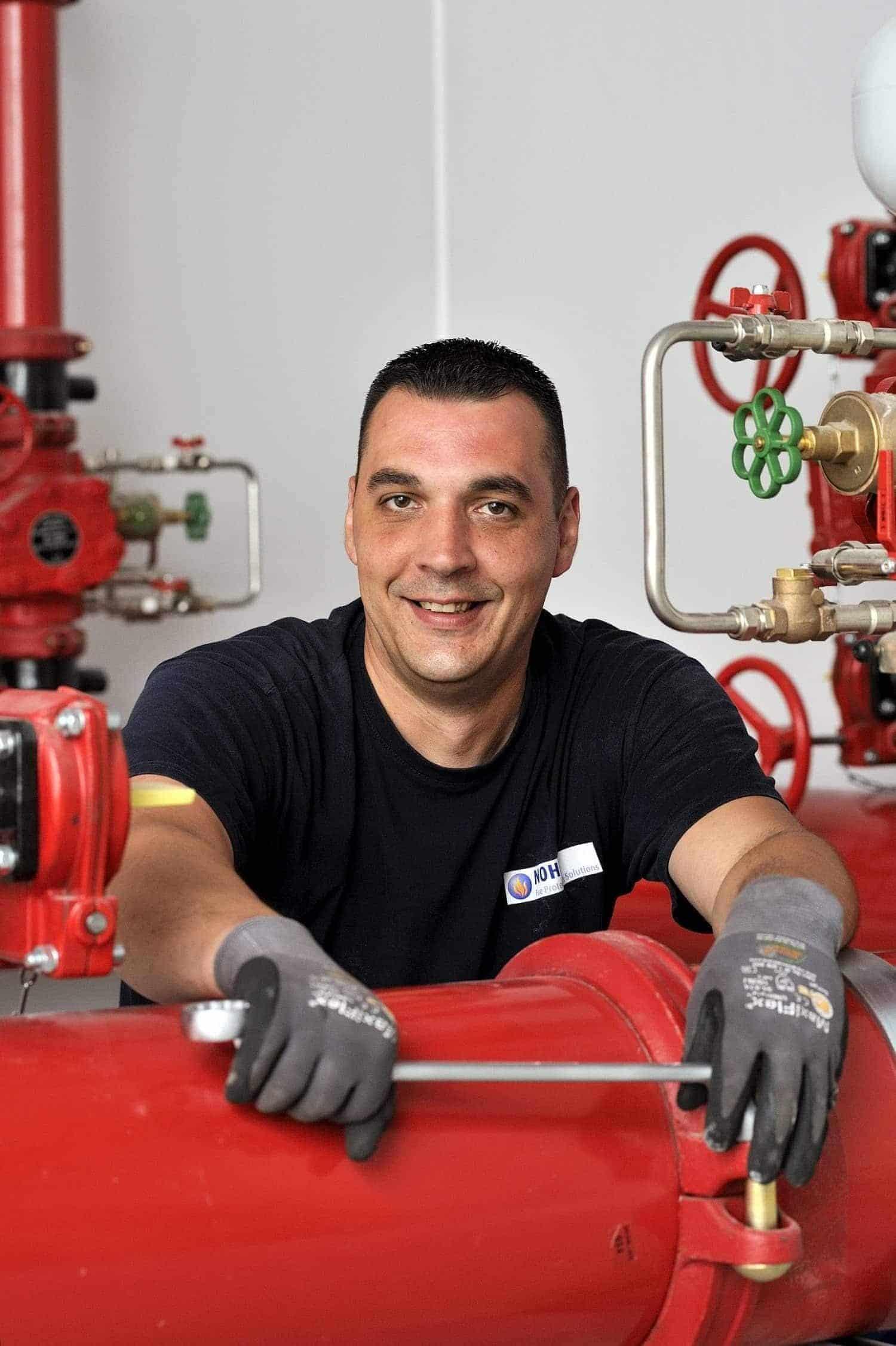 Nohl Brandschutz Servicemonteur