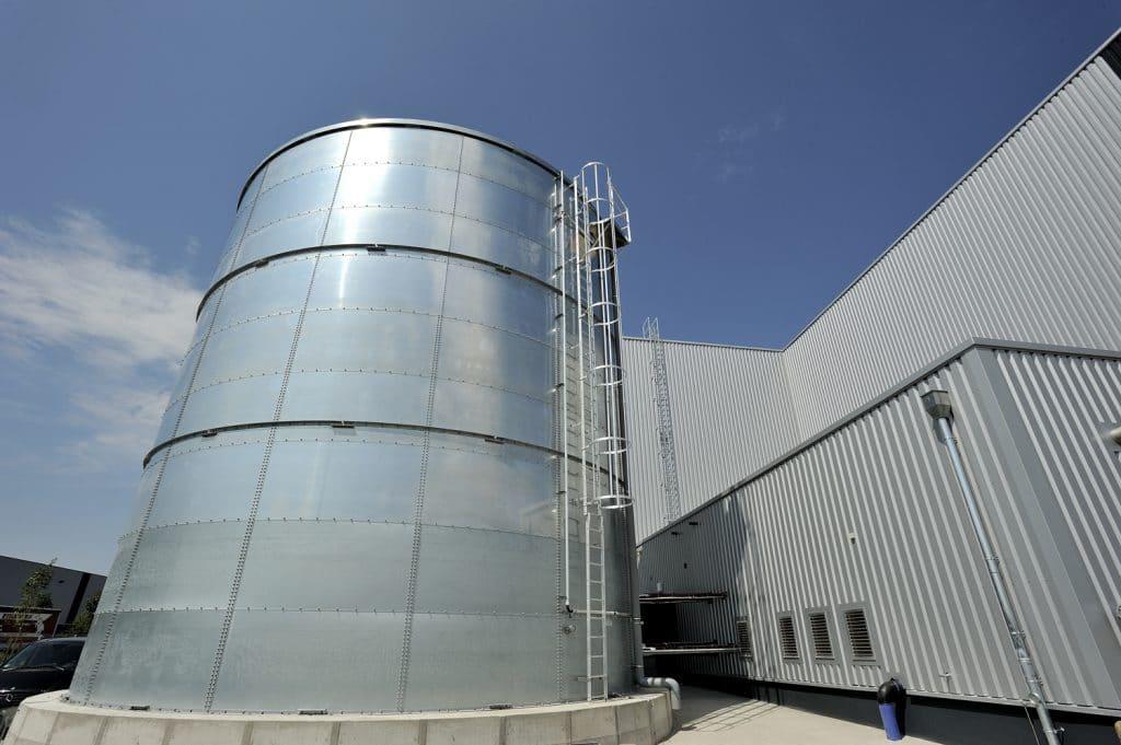 Sprinklerplanung Wassertank