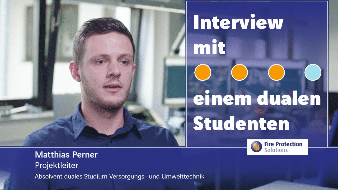 Duales Studium Versorgung- und Umwelttechnik: Interview mit einem dualen Studenten.