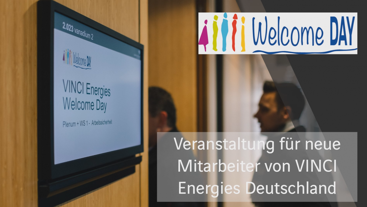 Ein Einblick in die VINCI Energies Welcome Days in Deutschland