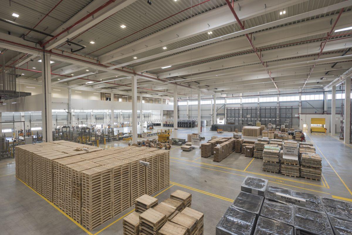 26.500 Sprinkler: Sprinklerschutz für Europäisches Distributionszentrum