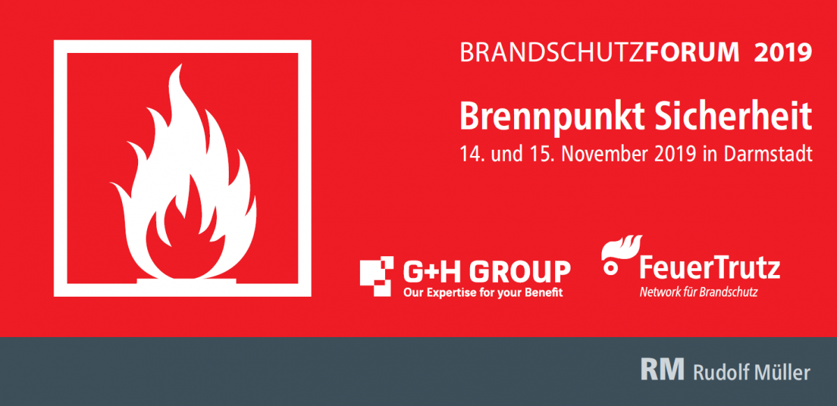 Brandschutzforum 2019 in Darmstadt mit Fire Protection Solutions!