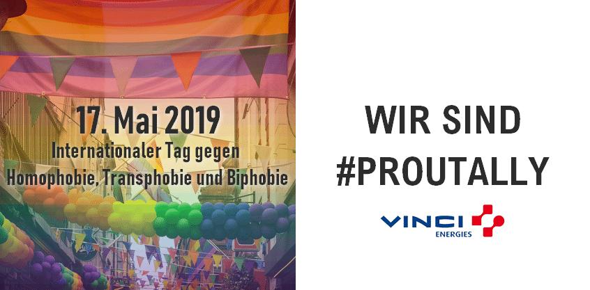 Wir sind #PROUTALLY   IDAHOT 2019
