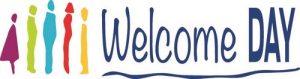 Welcome Day Logo. Dieses Mal findet der Welcome Day in Leipzig statt!