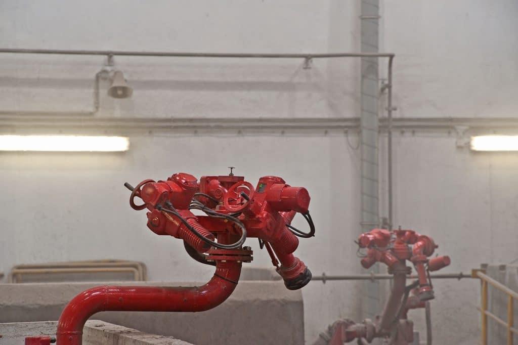 Brandschutz Feuerschutz Calanbau Monitorwasserwerfer