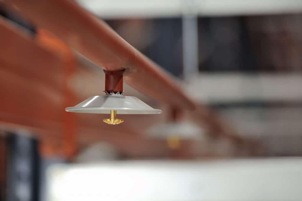 Brandschutz Feuerschutz Calanbau Sprinkler Logistikzentrum