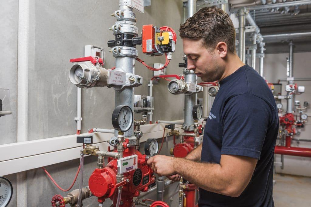 Brandschutz Feuerschutz Calanbau Wartung und Service