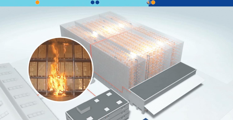 Brandschutz im Hochregallager - Sprinkleranlage, Sprinklerzentrale, Logistikzentrum - FPS 02