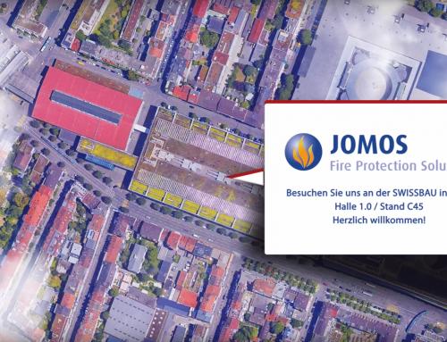 JOMOS Brandschutz AG auf der Swissbau 2020