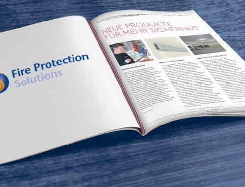 """Kurzvorstellung unserer Sprinkler-App CalanOnTrack® in der Zeitschrift """"Vorbeugender Brandschutz"""""""