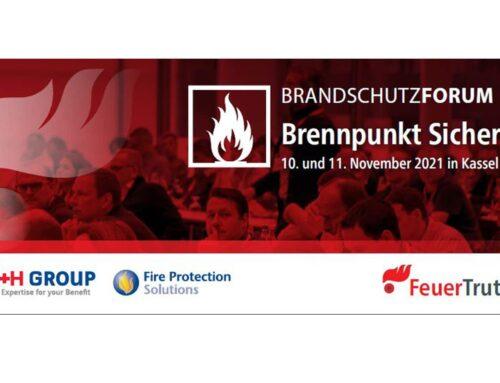 Brandschutzforum 2021 in Kassel: Brennpunkt Sicherheit