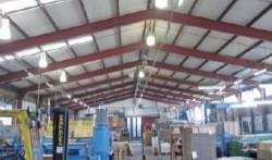 Wellpappe Höchstadt - Sprinkleranlage in 3 Hallen der Papierfabrik