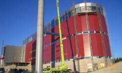 Kraftwerk Uddevalla - Monitorlöschanlage in Müllheizkraftwerk
