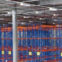 Logic Park - Sprinkleranlage in Logistikzentrum