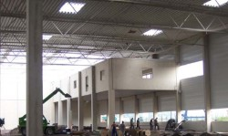 IVG Logport - Sprinkleranlage für Reifenlager