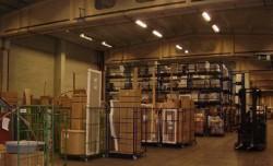 Quelle/DHL Oranienburg - Sprinkleranlage im Quelle Logistikzentrum