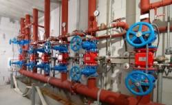 FBZ Rügen - Sprinkleranlage mit Schaumbeimischung in Fischbearbeitungszentrum