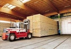 Klenk Holz - Schaumlöschanlage in Sägewerk