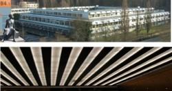 Universitätsbibliothek Saarbrücken - Sprinkleranlage in Denkmalgeschütztem Gebäude