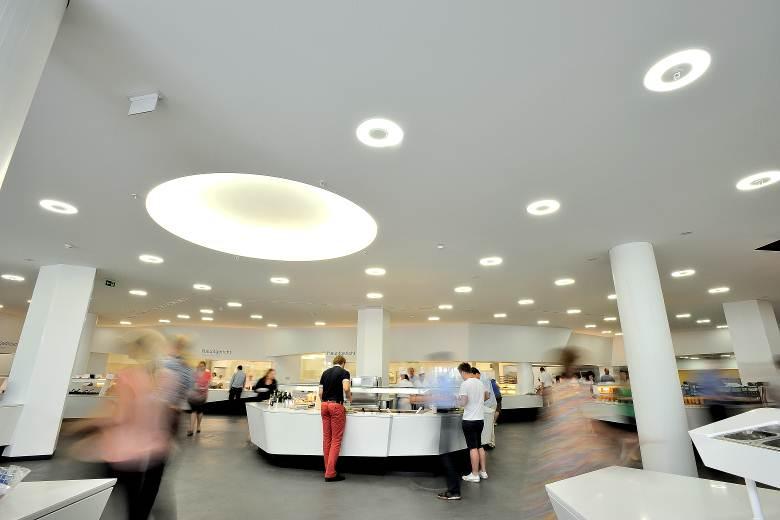 Siemens Perlach - Eine Kantine mit anspruchsvoller Architektur