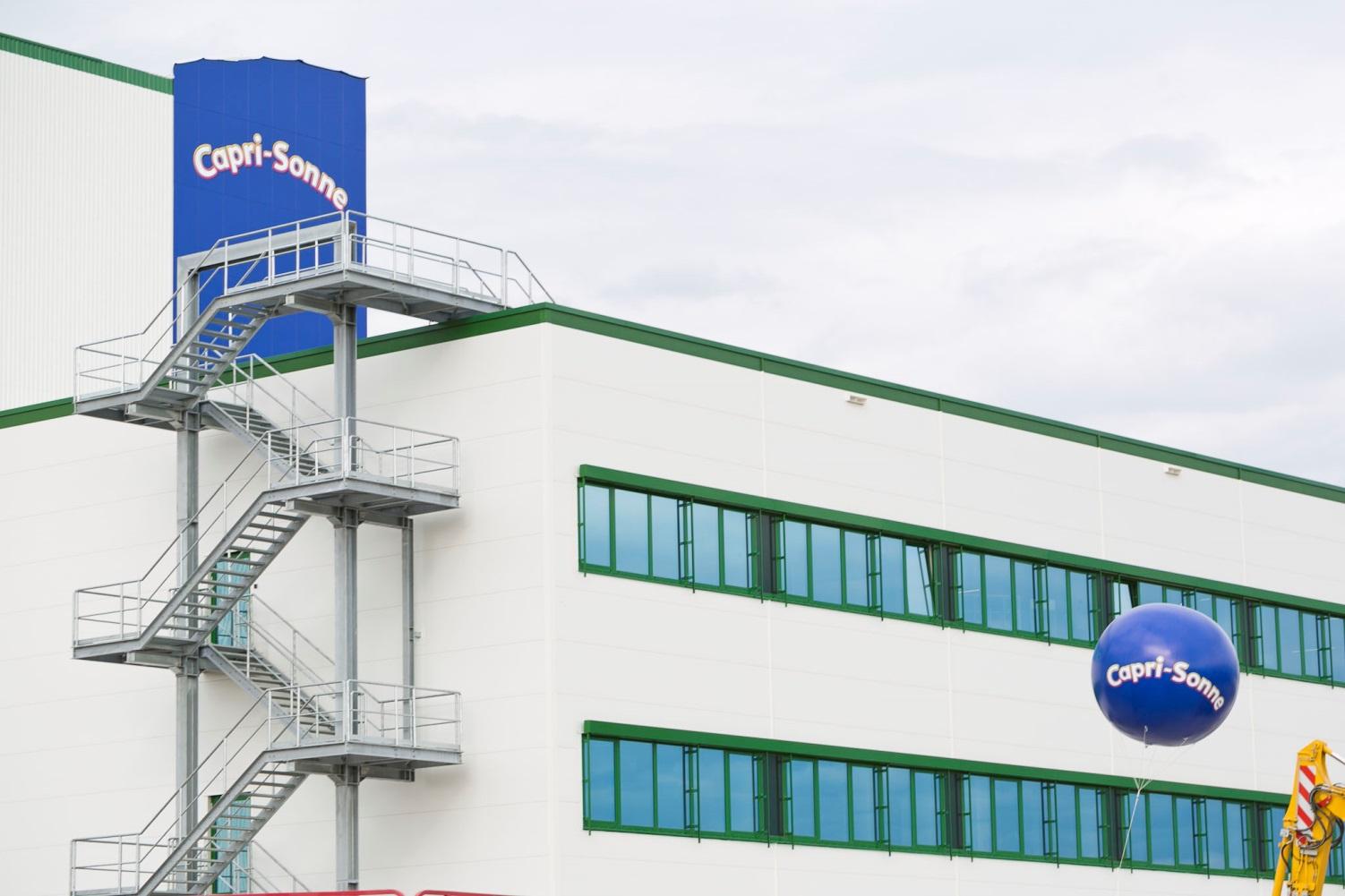 Wild Eppelheim - Internationaler Konzern und Mutterfirma der Capri-Sun AG rüstet auf