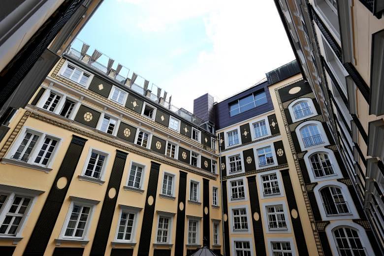 Hotel Bayrischer Hof - Sprinkler für denkmalgeschütztes Hotel