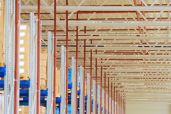 Hermes Bad Rappenau - Logistikzentrum sorgt für Brandschutz durch CalanMegaDrop