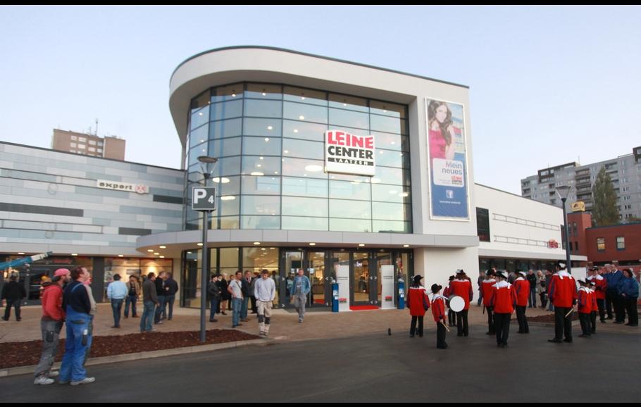 EKZ Leine Center - Sprinkleranlage im Einkaufszentrum